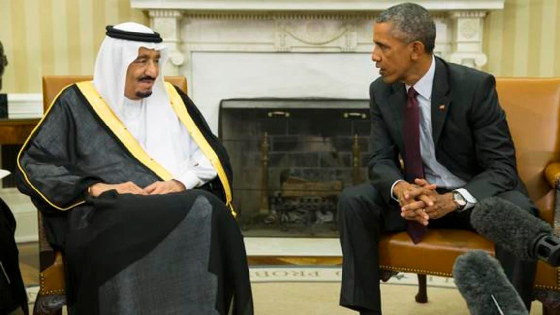 اوباما ملك سلمان