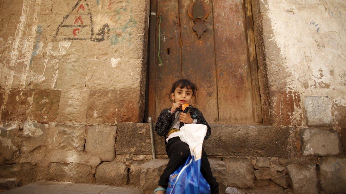 yemen girl ceasefire reuters