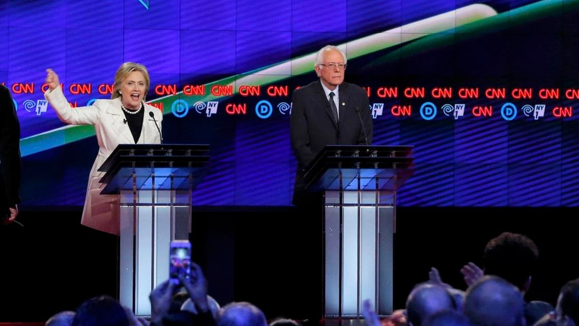 As the two-hour debate ended, Sanders had more than 173,000 mentions on Twitter, 55 percent of them positive, while Clinton had more than 191,000 mentions, 54 percent of them negative. (Reuters)