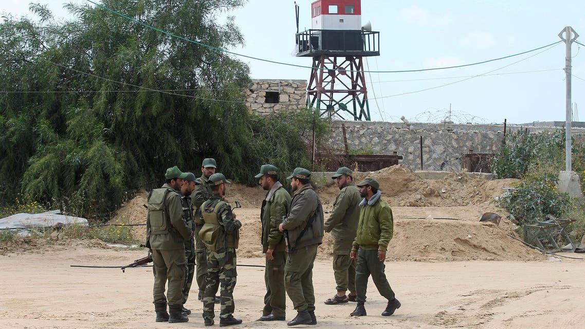 أمن حماس على حدود غزة مع مصر