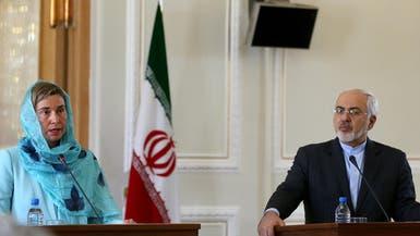 موغيريني وظريف: تطبيق الاتفاق النووي يواجه عراقيل