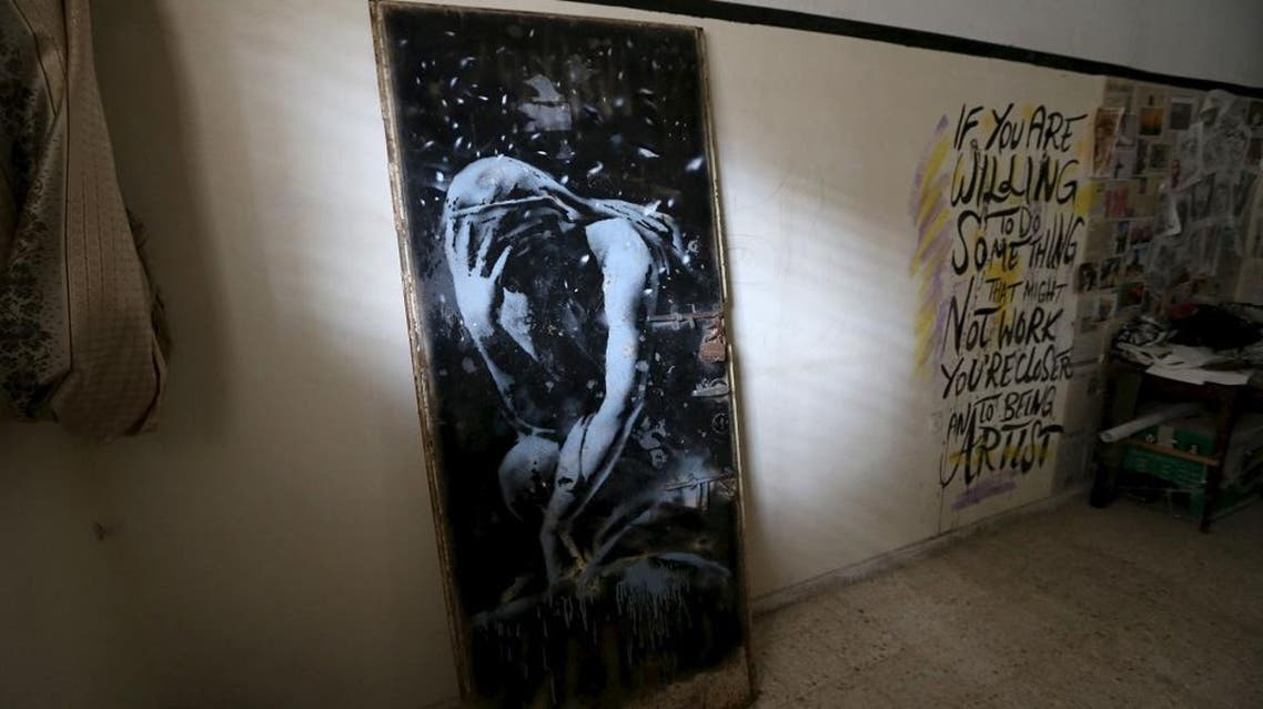 """Banksy - King of Urban Art"" runs until September (Reuters)"