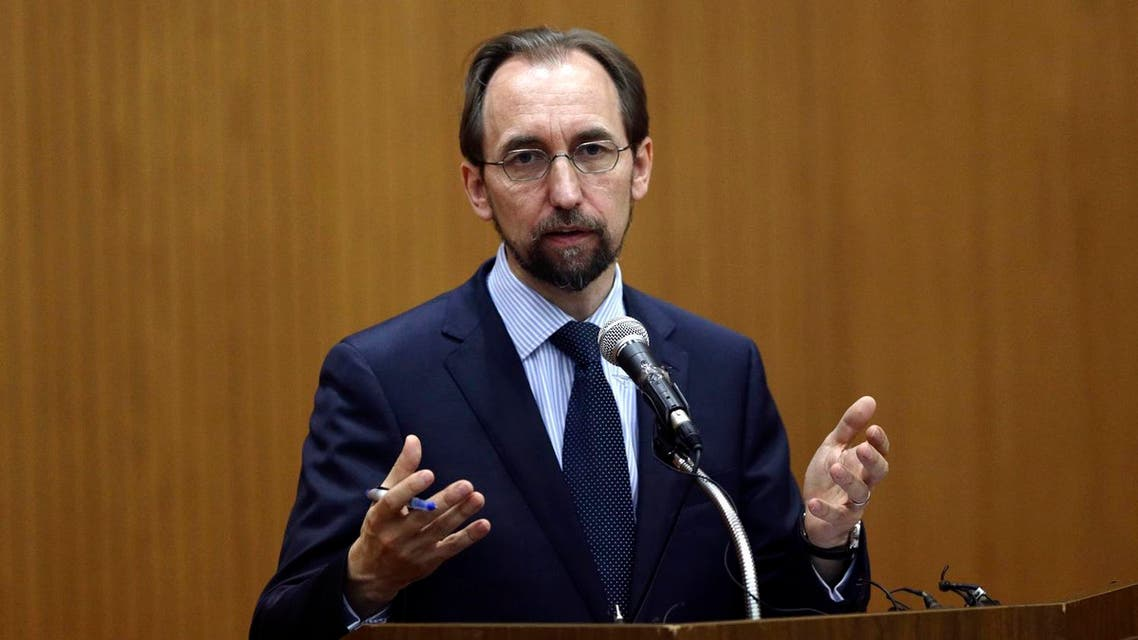 U.N. High Commissioner for Human Rights Zeid Ra'ad Al Hussein answers a question after he delivered a speech on Korea in the human rights world during a lecture at Yonsei University in Seoul, South Korea, Wednesday, June 24, 2015. Zeid is on a three-day official visit in South Korea and opened a new UN Human Rights office to work on the human rights situation in North Korea. (AP)