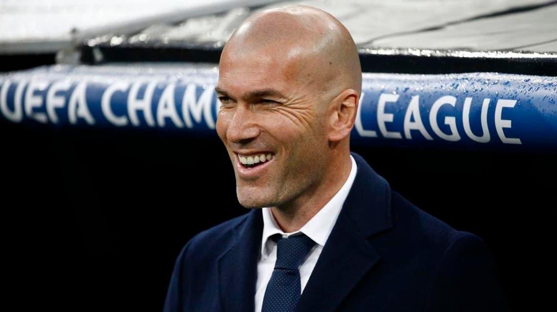 Zinedine Zidane (Reuters)