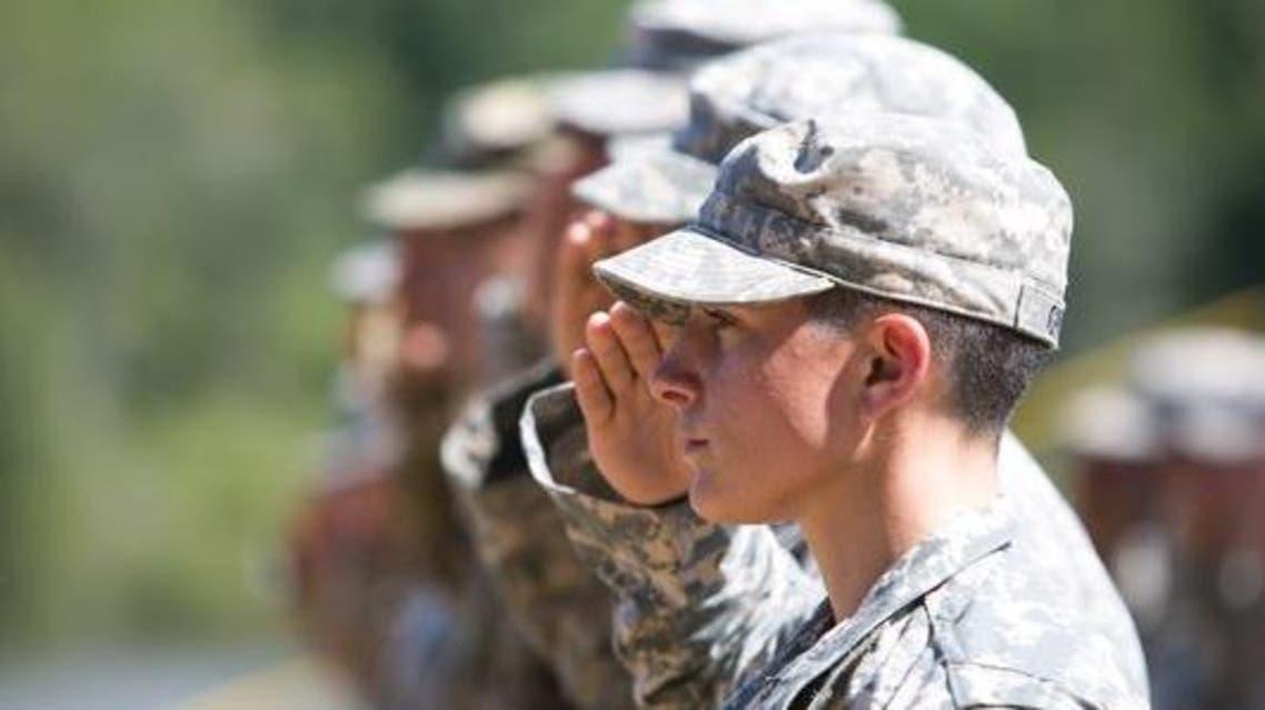 نساء في الجيش الأميركي امرأة جندية