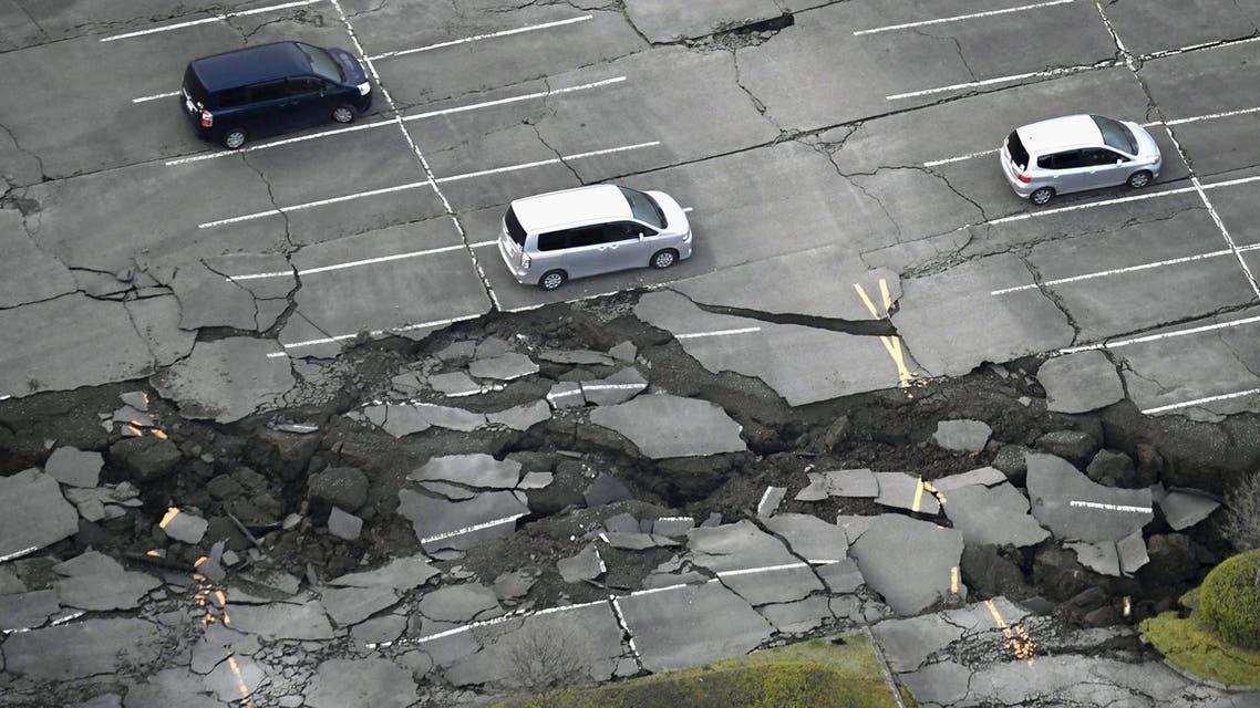 اليابان - زلزال
