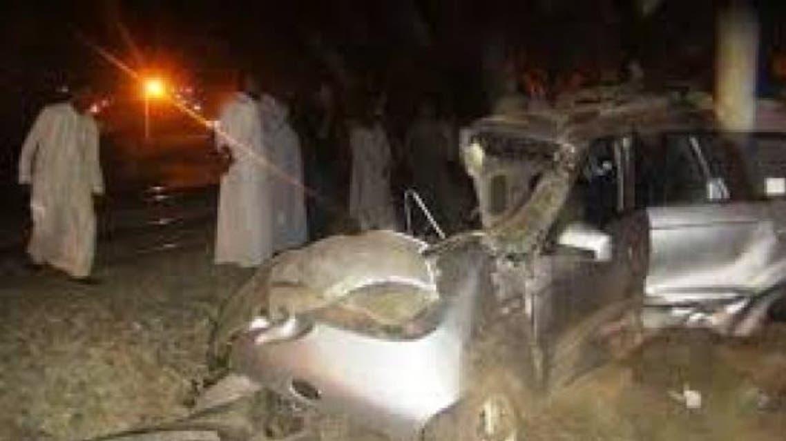 حادث قطار أسوان مع سيارة أجرة