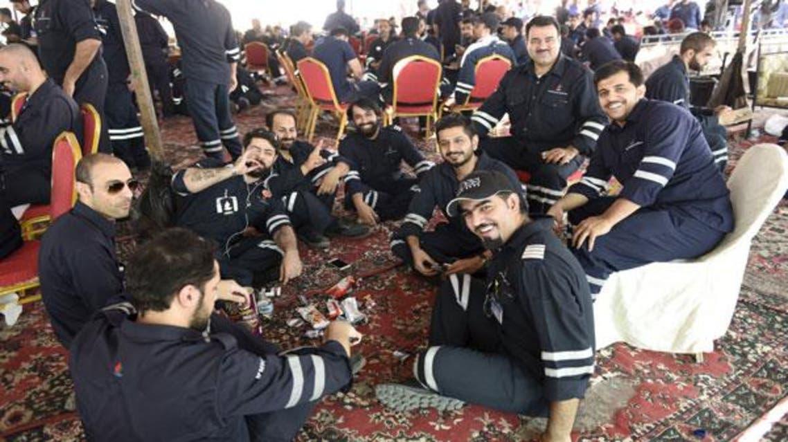 إضراب عمال النفط في الكويت