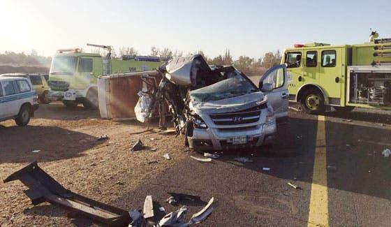الحادث أسفر عن وفاة معلمة وإصابة 3 أخريات