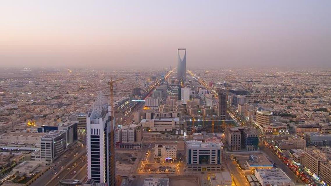 King Abdullah financial district in Riyadh