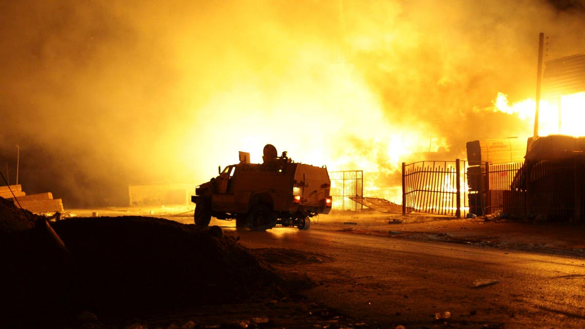 Gunfire and small explosions could be heard in the Hay el-Andalous area north of the capital and continued for about 30 minutes. (File photo: Reuters)