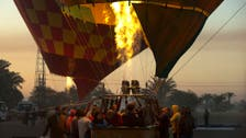 Ballooning over the sky of Luxor