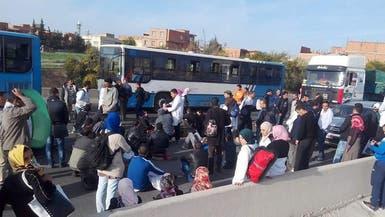 اشتباكات بين الشرطة والأساتذة المعتصمين بالجزائر