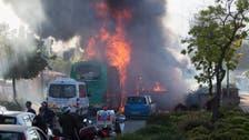 Explosion aboard Jerusalem bus, 16 casualties