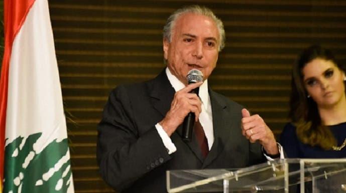 اللبناني الأصل ميشال تامر، سيتولى الرئاسة طوال 18 شهرا بقيت من ولاية المعزولة، بوصفه كان نائبها