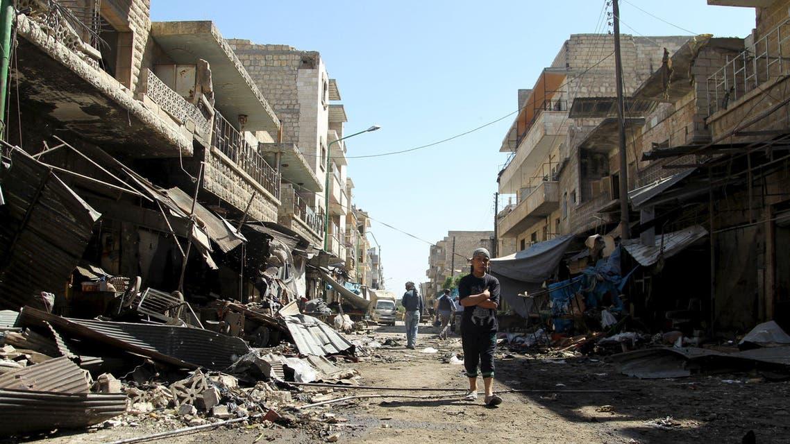 ادلب مجزة للأسد إدلب