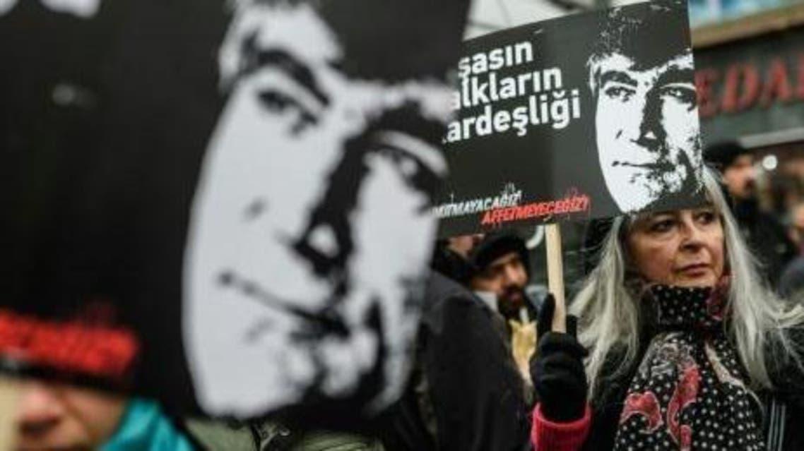 Turkish ex-police chiefs on trial over Armenian journalist's murder. AFP