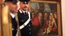 الشرطة الإيطالية تسترد لوحات سرقها النازي في ميلانو