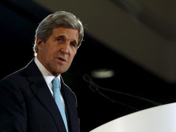 كيري يبحث مع السيسي السلام في الشرق الأوسط وليبيا