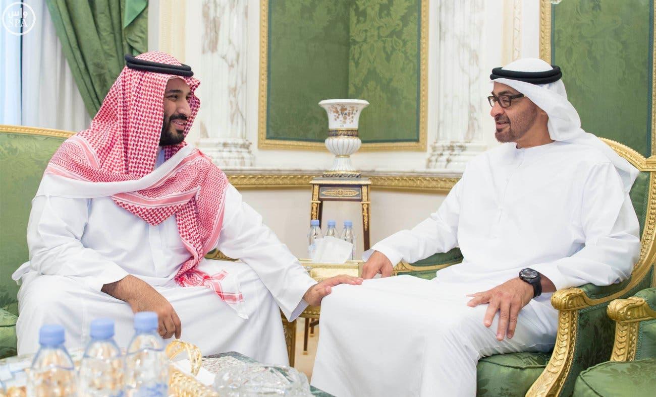 Image result for بن زايد و بن سلمان