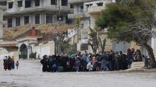 Evacuations begin from blockaded Syrian towns
