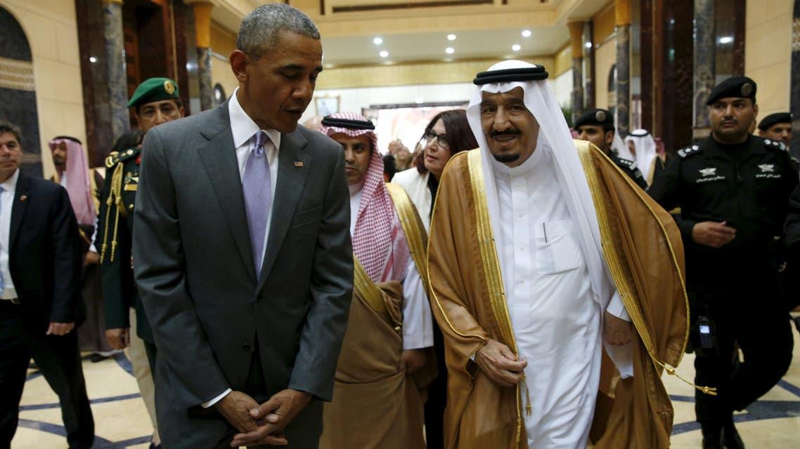 أوباما في الرياض ويلتقي الملك سلمان