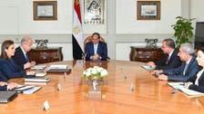 السيسي يطالب بتنفيذ قرارات لجان فض منازعات الاستثمار