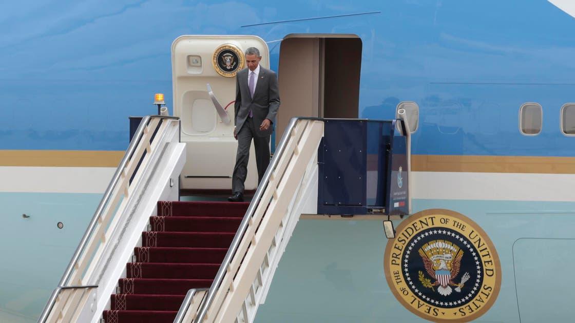 Obama in Riyadh for meeting with King Salman