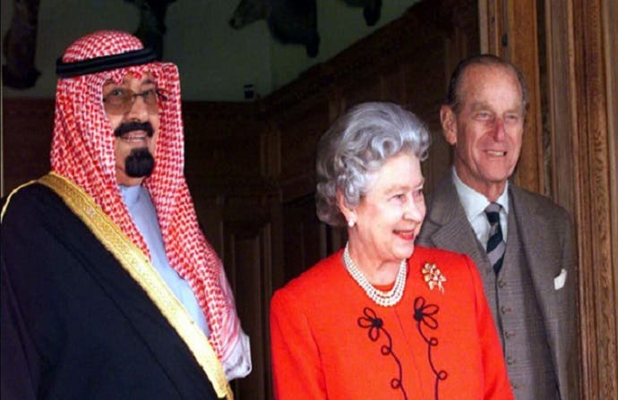 كانت للملك الراحل عبد الله بن عبد العزيز، زيارة ثانية في 2007  إلى لندن، استقبلته فيها الملكة