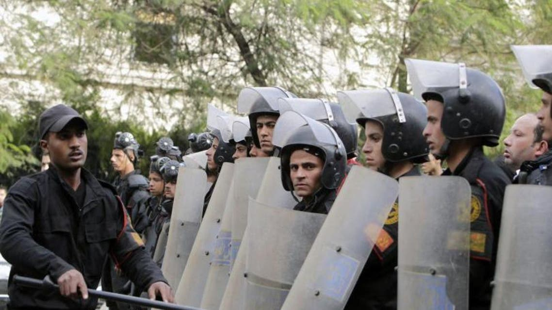 police, riot, egypt (Reuters)