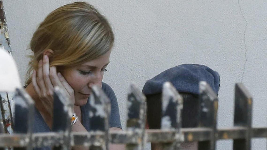 Sally Faulkner remains in Beirut for a custody hearing with her divorced ex-husband. (Reuters)