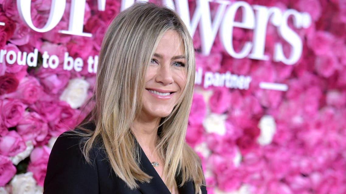Aniston, 47, a Hollywood mainstay who became a mega-celebrity through her starring role in the long-running television sitcom 'Friends'. (AP)
