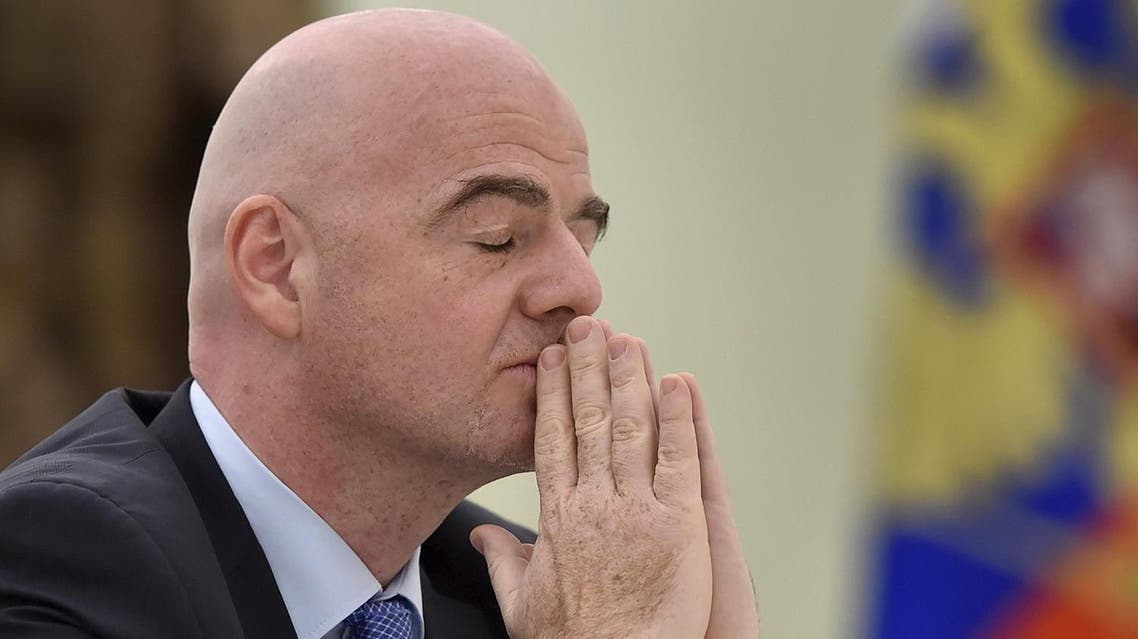 Infantino also addressed allegations made against him in media reports citing leaks from the Panama Papers. (Reuters)