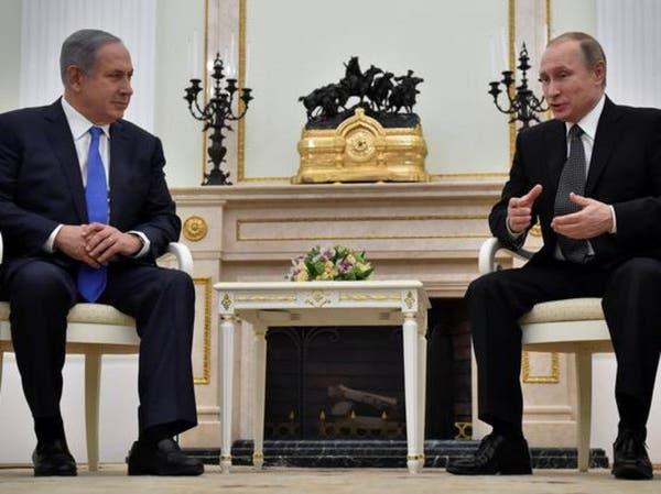 بوتين ونتنياهو يبحثان الأزمة السورية