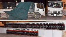 Huge quantities of imported liquor seized in Riyadh