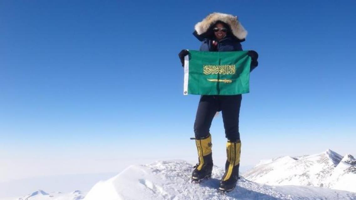 Moharrak said her family members were initially shocked when she showed interest in mountain climbing but gradually warmed up to the idea. (Saudi Gazette)