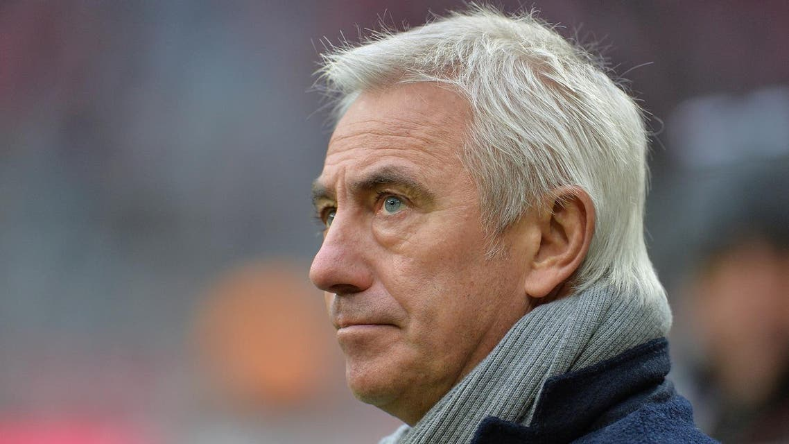 Van Marwijk became the new manager of the Saudi Arabia national team on a one-year contact last August. (AP)