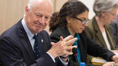 دي ميستورا يدعو لاجتماع طارئ انقاذاً لمفاوضات سوريا