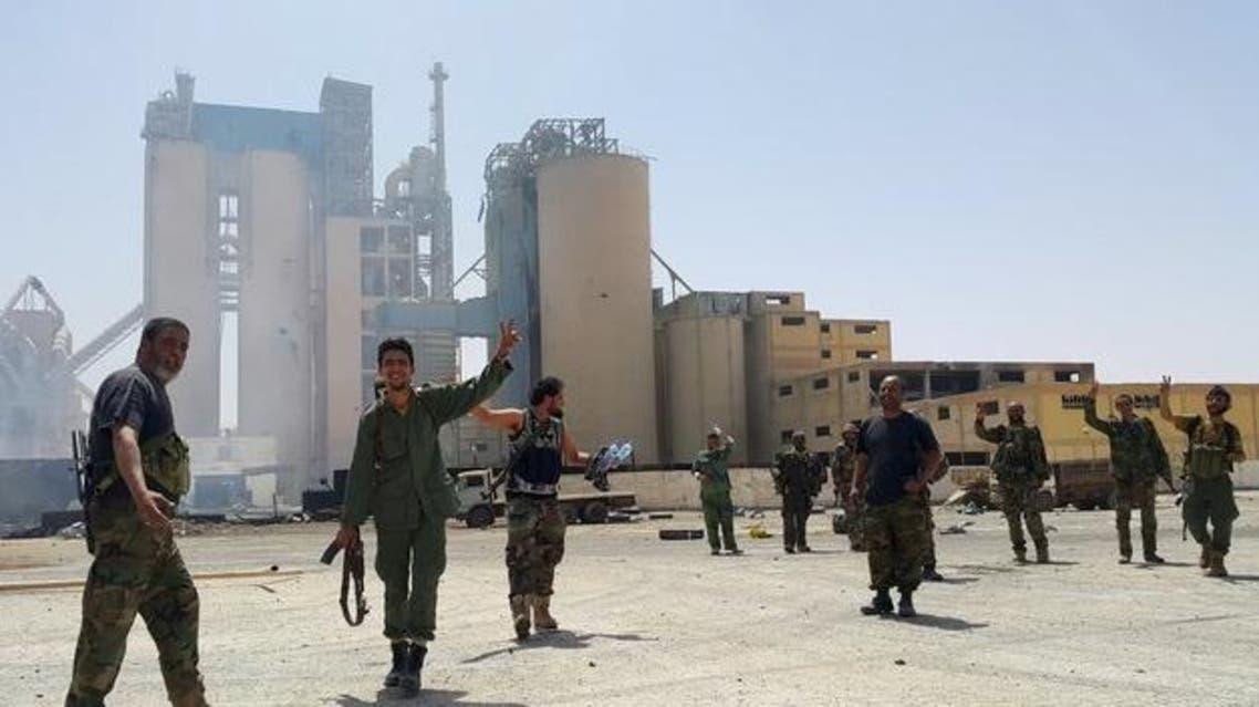 عناصر من الجيش الليبي شرق البلاد