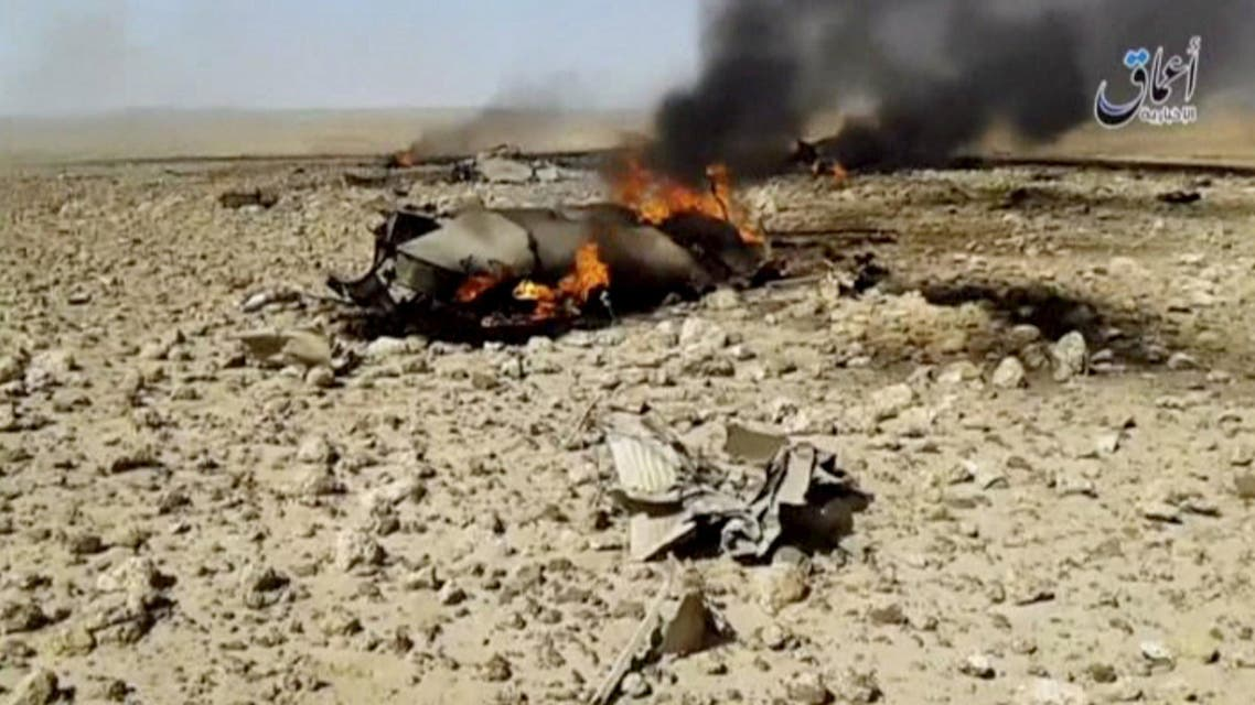 syria jet downed isis reuters