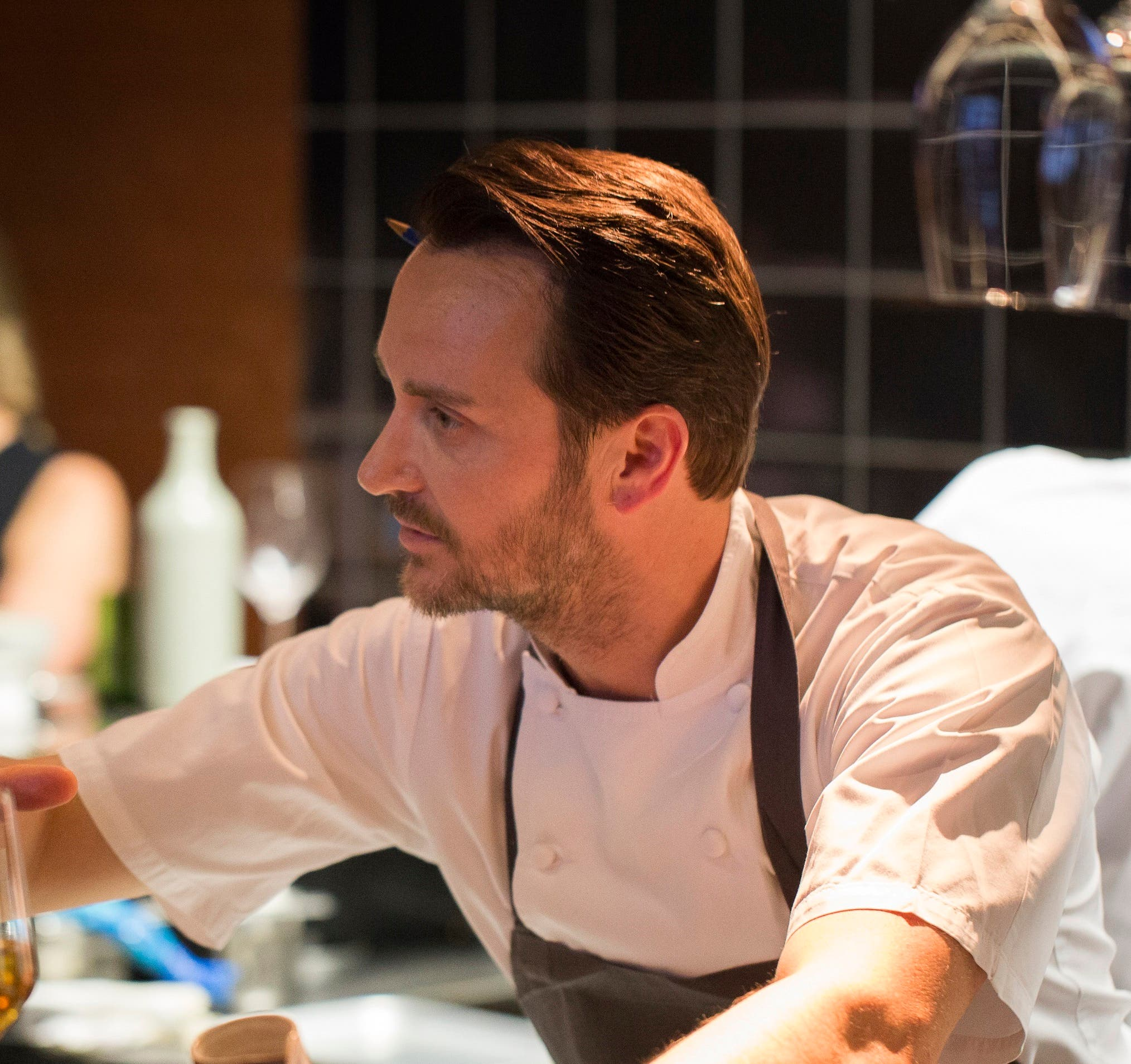 He opened his first restaurant - the Pollen Street Social - in 2011, and gained a Michelin star within six months. (Monca Kapila)