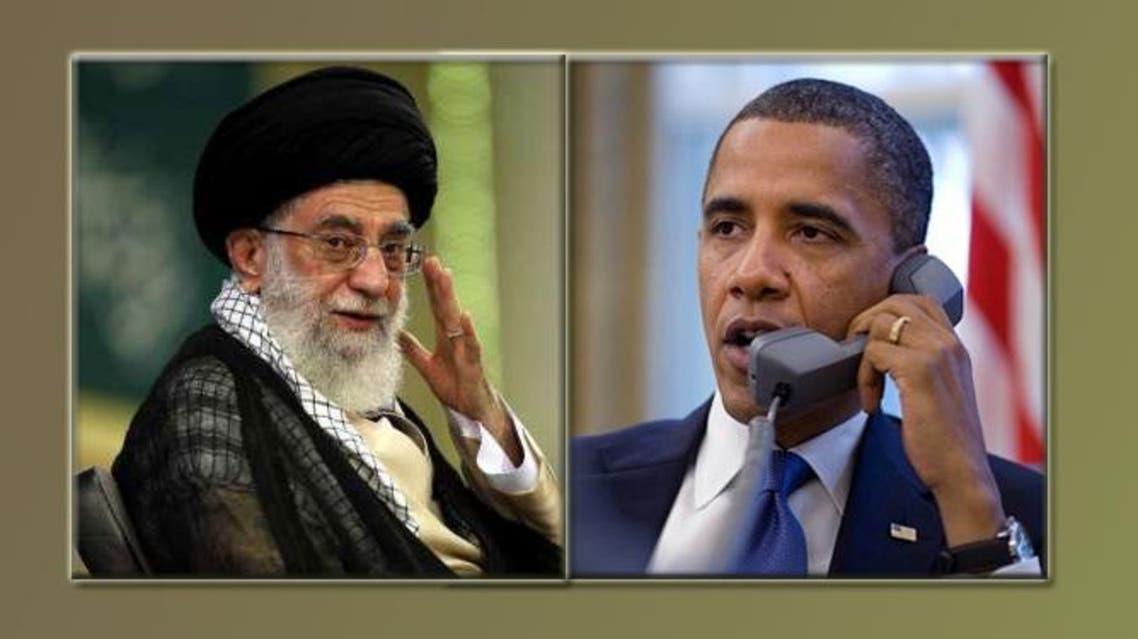أوباما و خامنئي