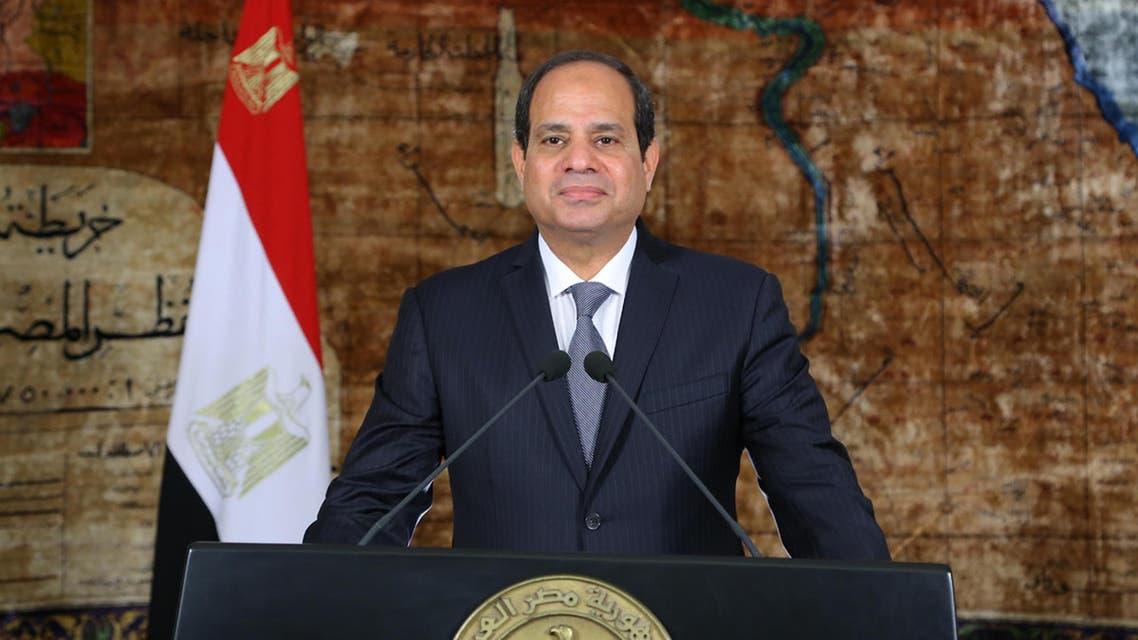 الرئيس المصري عبد الفتاح السيسي 1