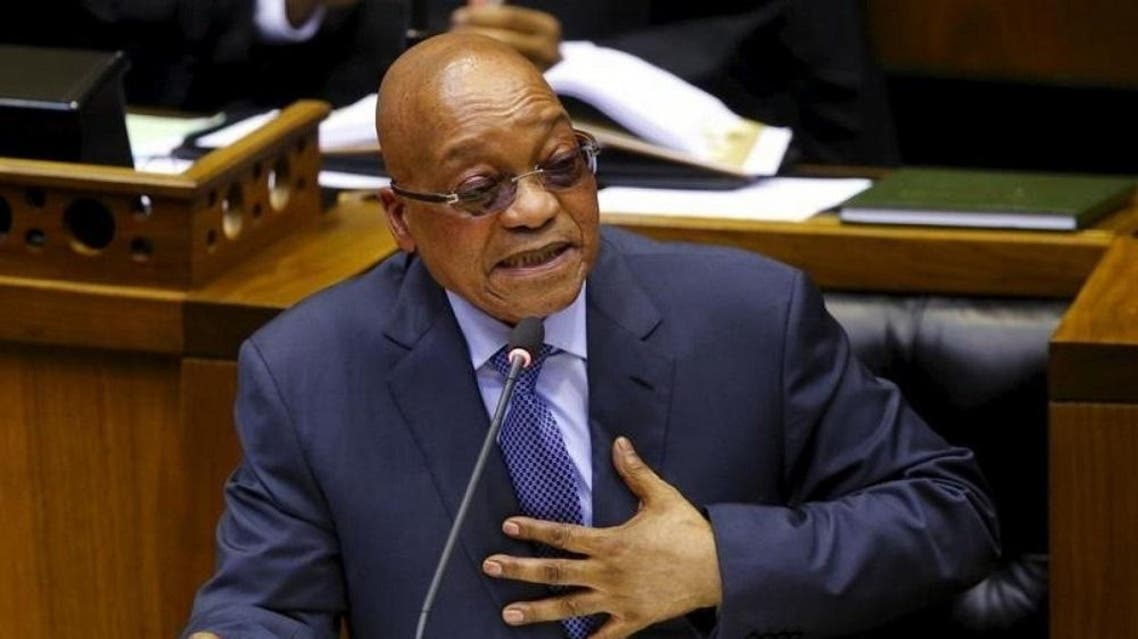 Zuma's trip comes as he is under fire and accused of corruption at home (Reuters)