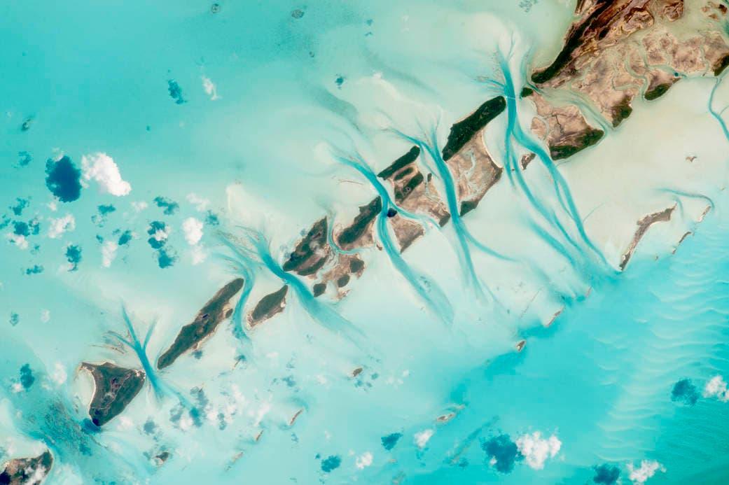قنوات المد والجزر في جزر البهاما