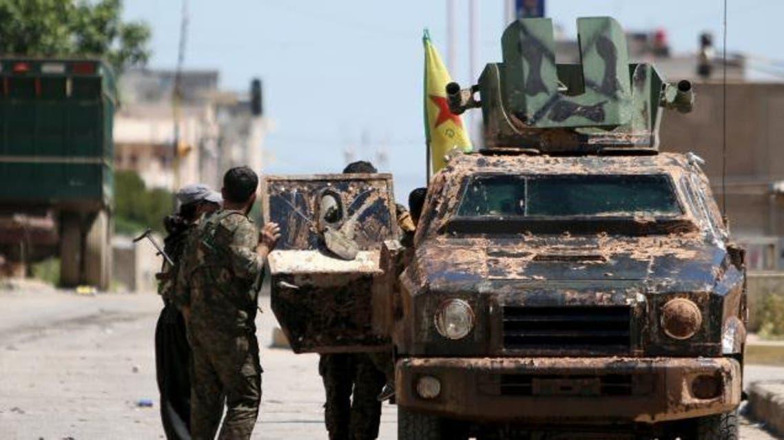 قوات الحماية الكردية في القامشلي