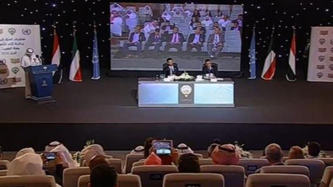 جانب من المحادثات اليمنية بالكويت 3