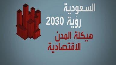 رؤية السعودية 2030 تستهدف رفع كفاءة المدن الاقتصادية