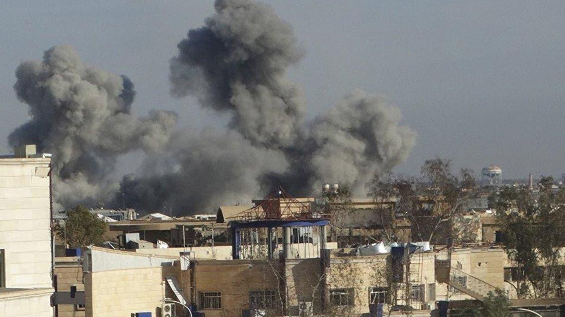 قصف الطائرات لداعش في العراق