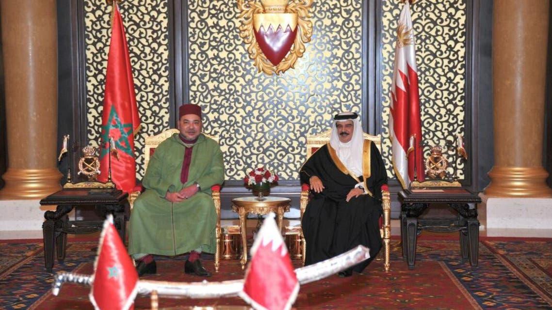 قمة بحرينية مغربية